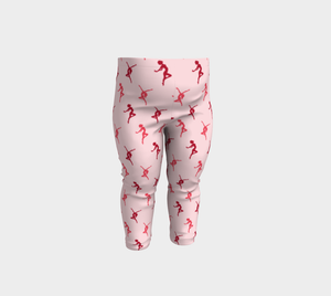 Dance Like Nobody's Watching Baby Leggings