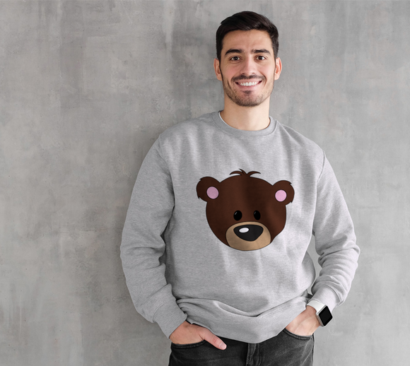 Buddy the Bear Crewneck Sweatshirt