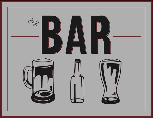 The Bar Greeting Card