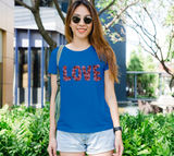 Blooming Love Women's Fitted Tee
