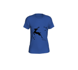 Let it snow, Deer Women's Fitted Tee