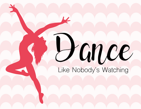 Dance Like Nobody's Watching Greeting Card