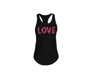 Blooming Love Racerback Tank Top