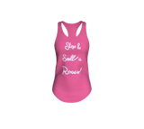 Stop & Smell the Roses Racerback Tank Top