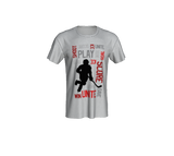 For the Love of Hockey Unisex Tee - Red