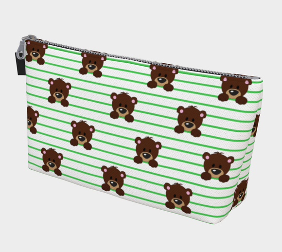 Buddy the Bear Makeup Bag