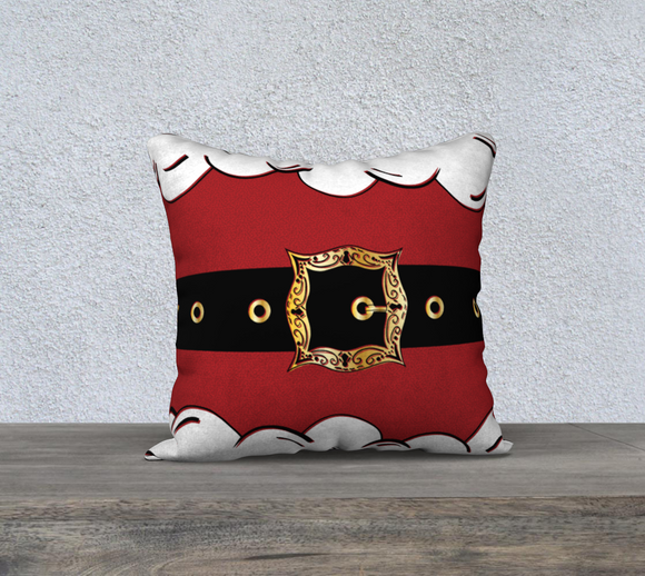 Santa Suit Pillow Case - 18