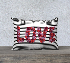 "Blooming Love Pillow Case - 20""x14"""