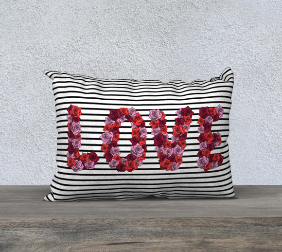 Blooming Love Pillow Case - 20