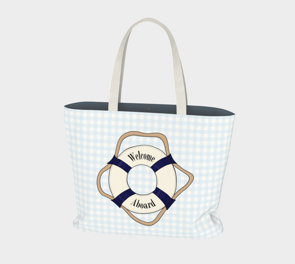 Welcome Aboard Market Tote