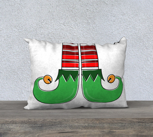 "Elf Feet Pillow Case - 20""x14"""