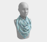 Walking for Sixty-five Roses Square Scarf
