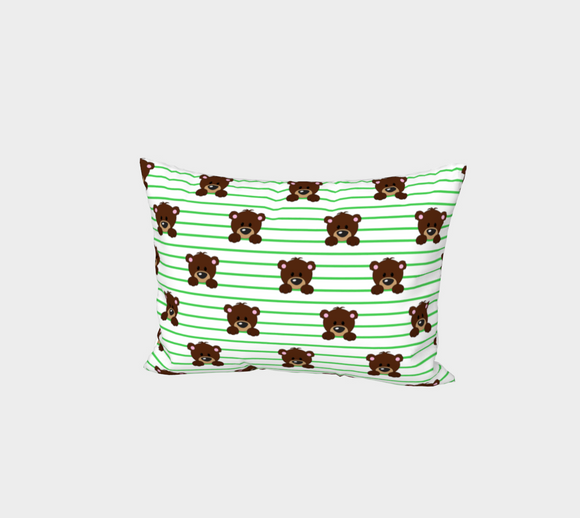 Buddy Bear Bed Pillow Sham