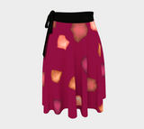 Falling Leaves Wrap Skirt