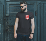 All About the Dots Pocket Unisex Tee - Red