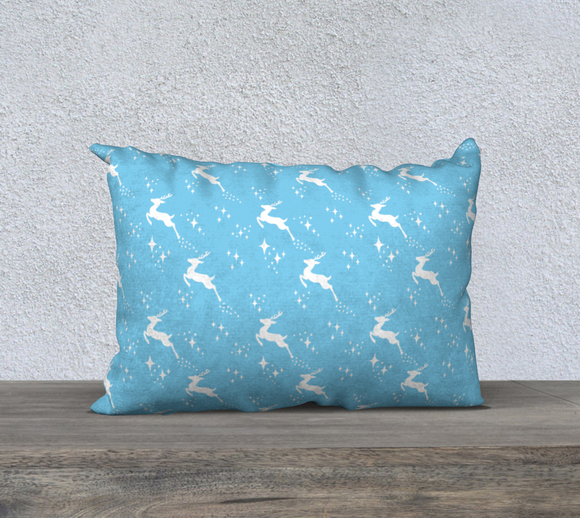 Let it snow, Deer Pillow Case 20