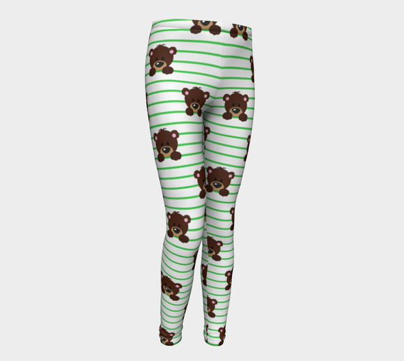 Buddy the Bear Youth Leggings