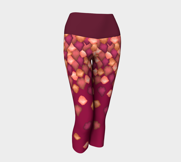 Falling Leaves Yoga Capris