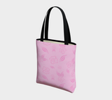 Cartoon Rose Basic Tote