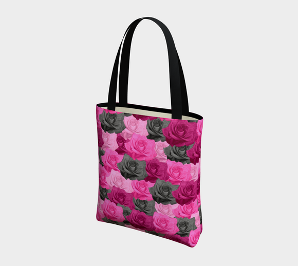 Pink Roses Basic Tote