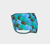 Blue Roses Mini Shorts