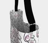 Wine is Always a Good Idea Patterned Tote Bag