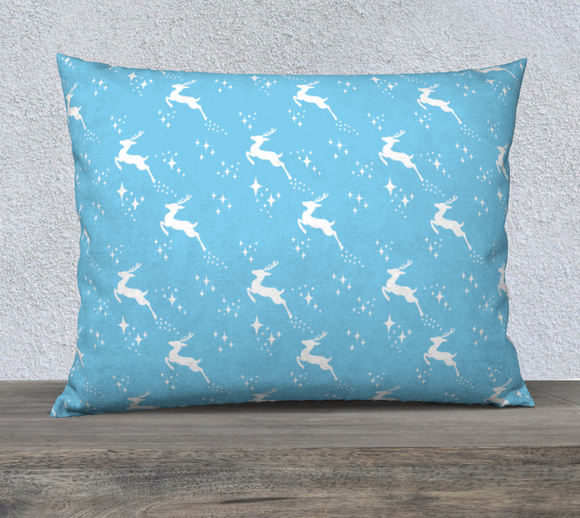 Let it snow, Deer Pillow Case - 26