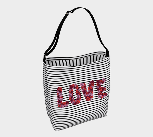 Blooming Love Tote Bag