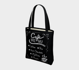 Cafe Menu Basic Tote