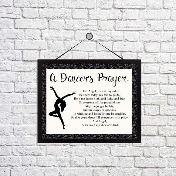 Dancer's Prayer Print