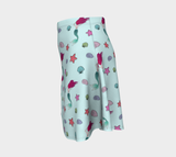Under the Sea Flare Skirt