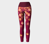 Falling Leaves Yoga Leggings
