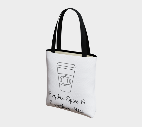 Pumpkin Spice & Everything Nice Basic Tote