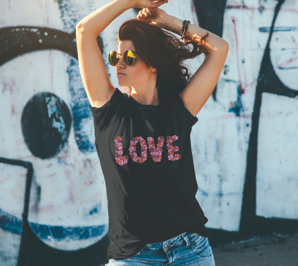 Blooming Love Unisex Tee
