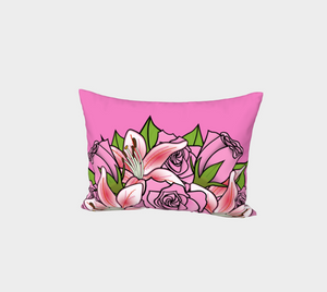 Bouquet of Flowers Bed Pillow Sham