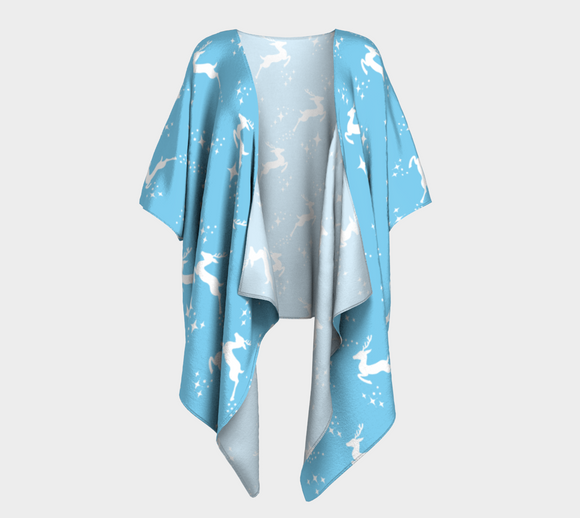 Let it snow, Deer Draped Kimono