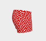 All About the Dots Shorts - Red