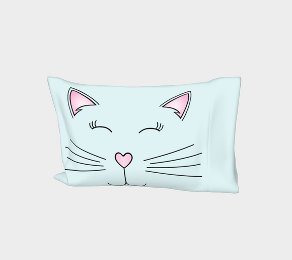 Pretty Kitty Bed Pillow Sleeve