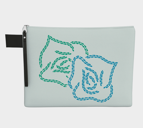 Walking for Sixty-five Roses Pouch