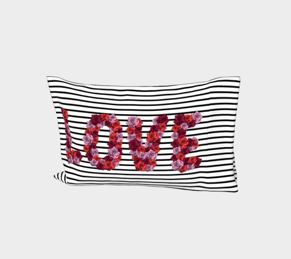 Blooming Love Bed Pillow Sleeve