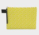 All About the Dots Pouch - Yellow