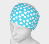 All About the Dots Headband - Blue