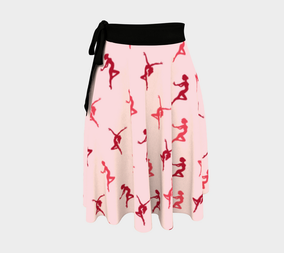 Dance Like Nobody's Watching Wrap Skirt