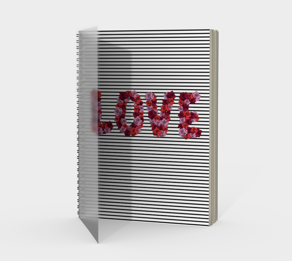 Blooming Love Spiral Notebook