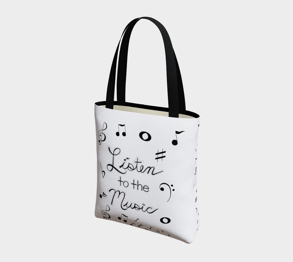 Listen to the Music Basic Tote