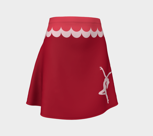 Dance Like Nobody's Watching Flare Skirt