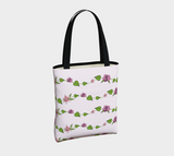Bouquet of Flowers Vines Basic Tote