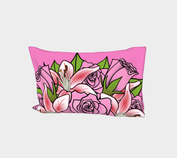 Bouquet of Flowers Bed Pillow Sleeve