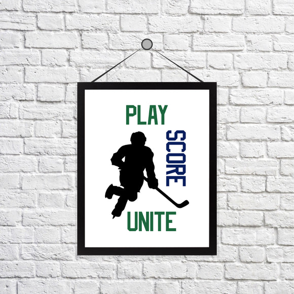 For the Love of Hockey Print