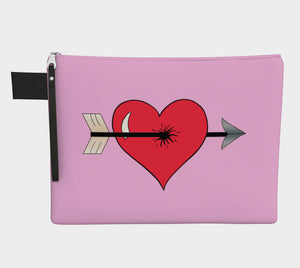 Struck by Cupid's Arrow Pouch